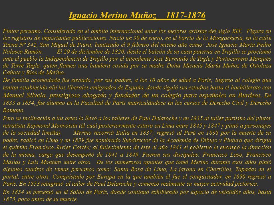 Ignacio Merino Muñoz 1817-1876