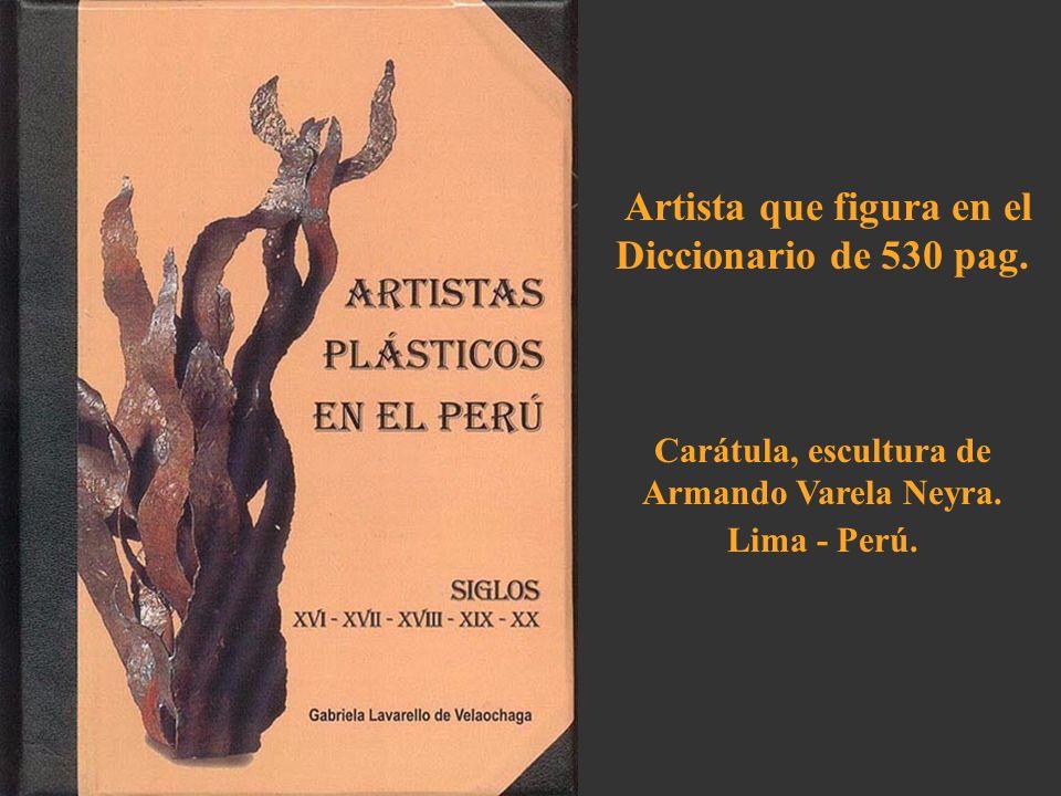 Artista que figura en el Diccionario de 530 pag