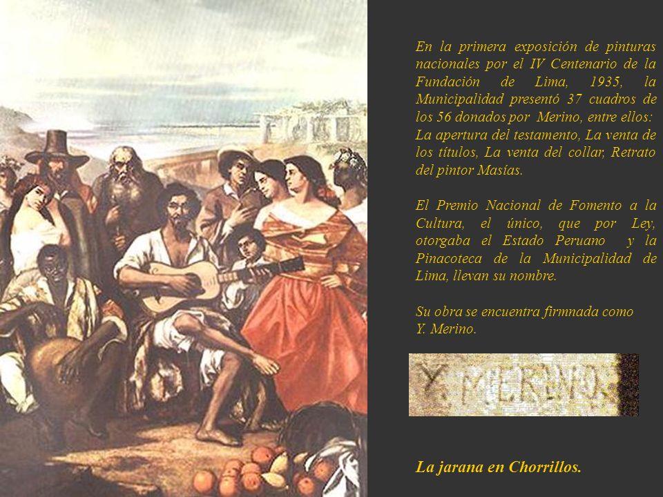 La jarana en Chorrillos.