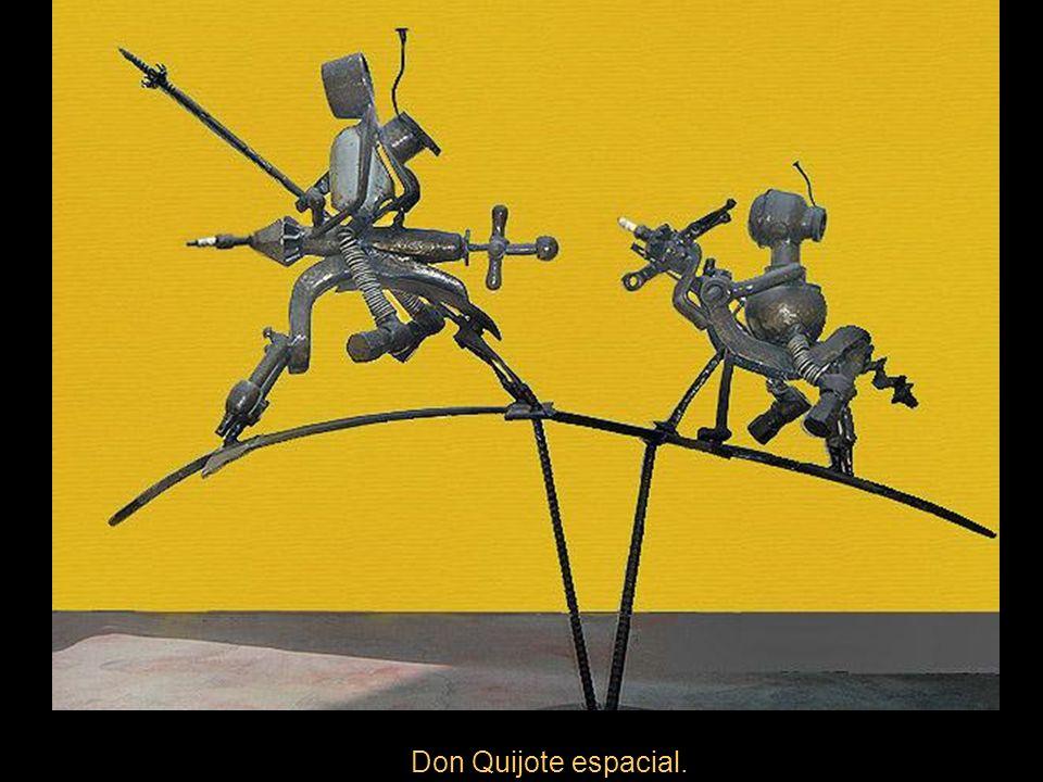Don Quijote espacial.