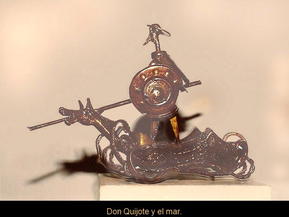 Don Quijote y el mar.