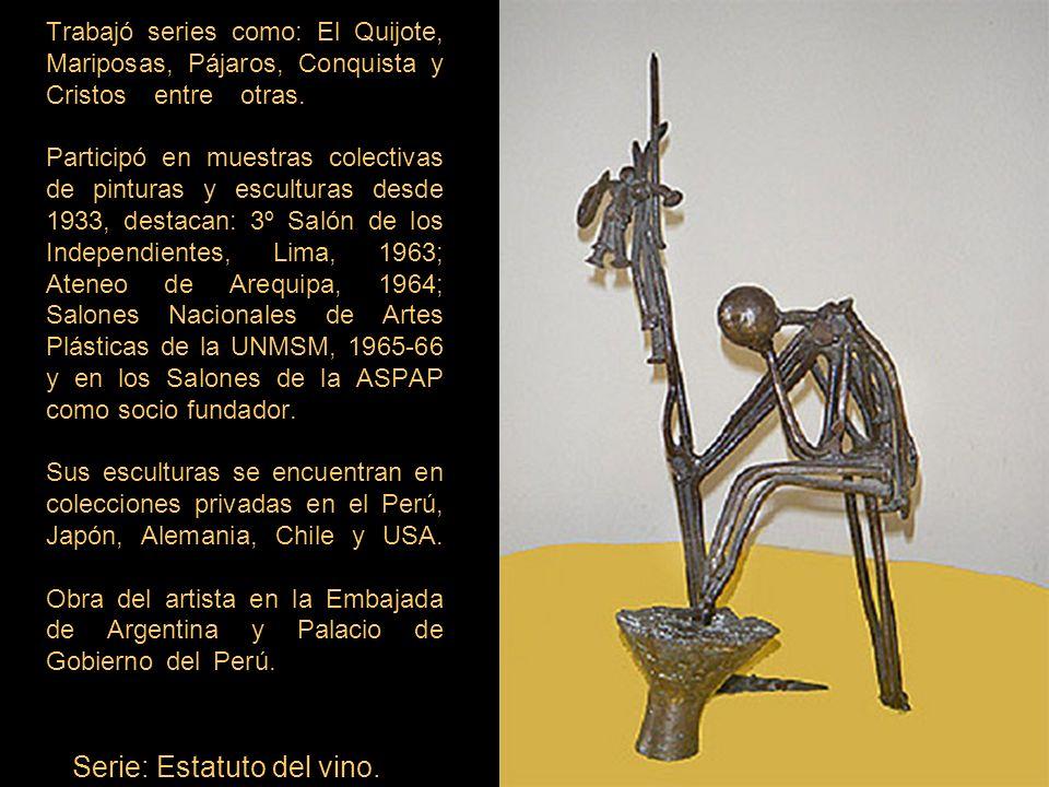 Serie: Estatuto del vino.