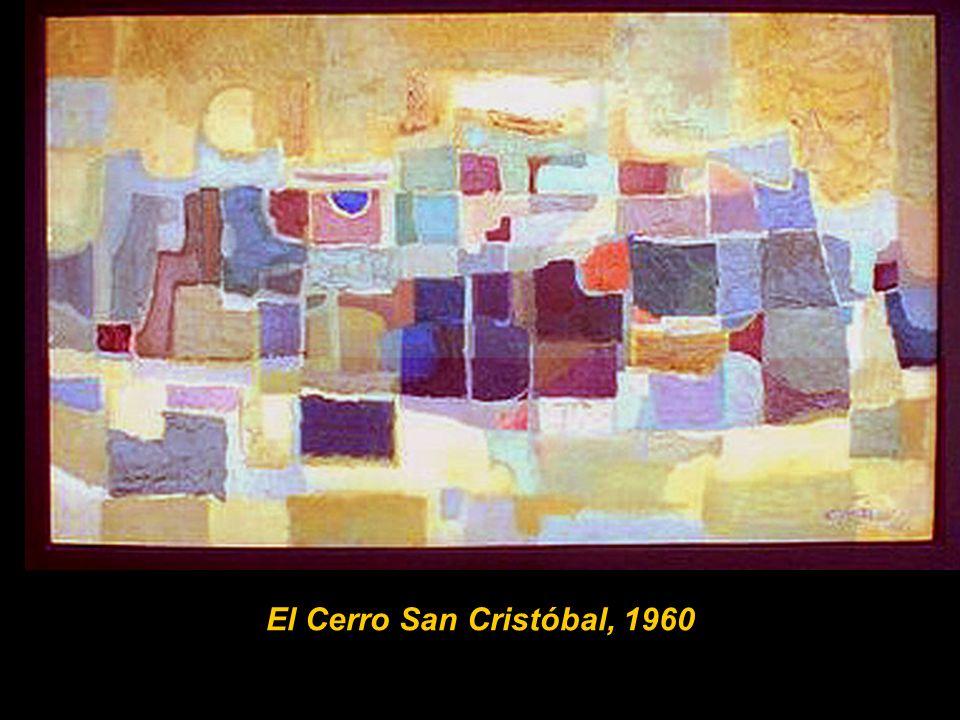 El Cerro San Cristóbal, 1960