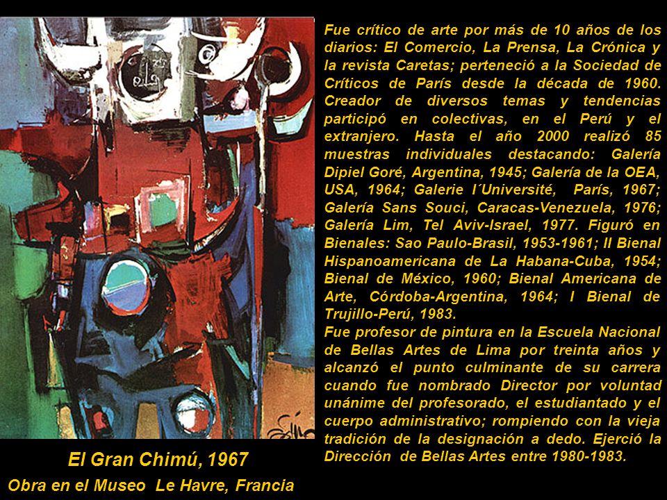 Obra en el Museo Le Havre, Francia