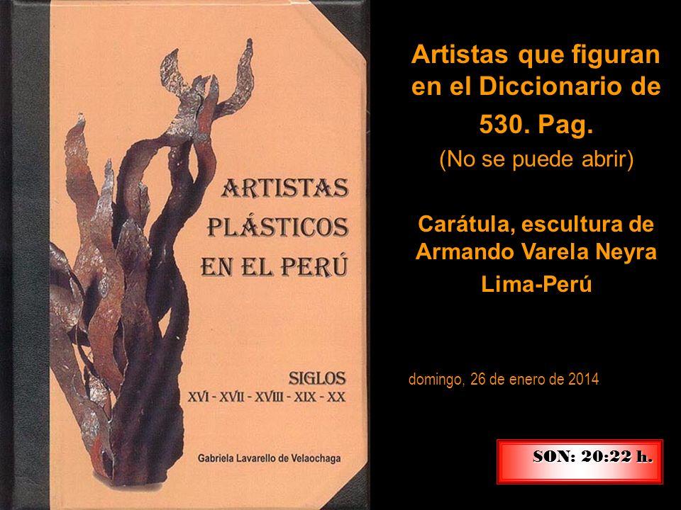 Artistas que figuran en el Diccionario de 530. Pag.