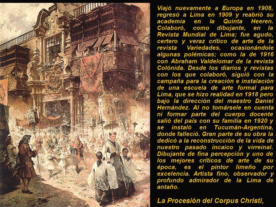 La Procesión del Corpus Christi,