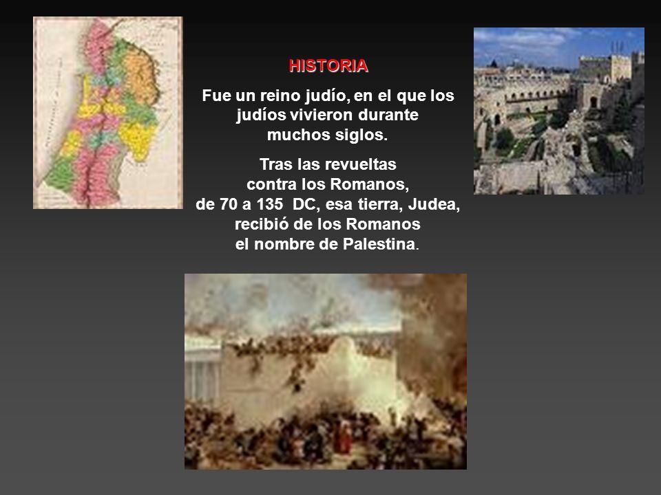 HISTORIA Fue un reino judío, en el que los judíos vivieron durante muchos siglos.