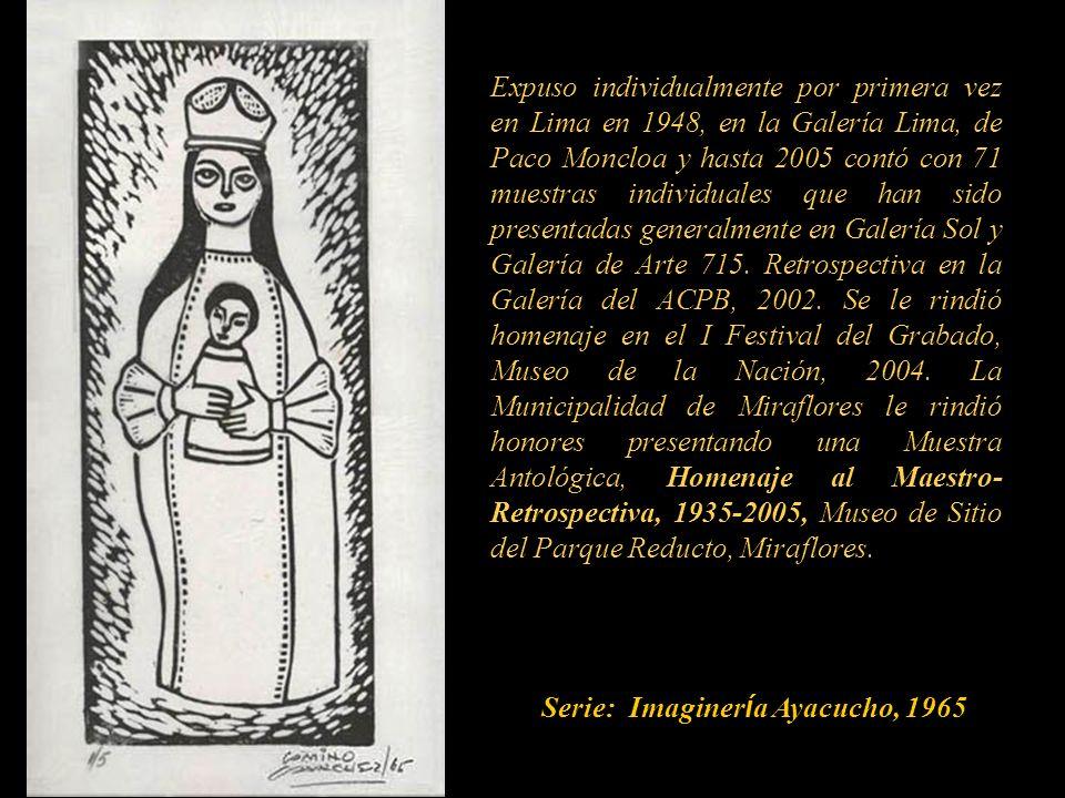 Serie: Imaginería Ayacucho, 1965