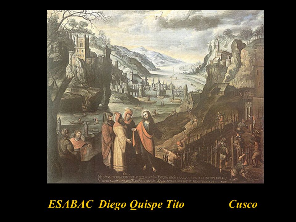 ESABAC Diego Quispe Tito Cusco