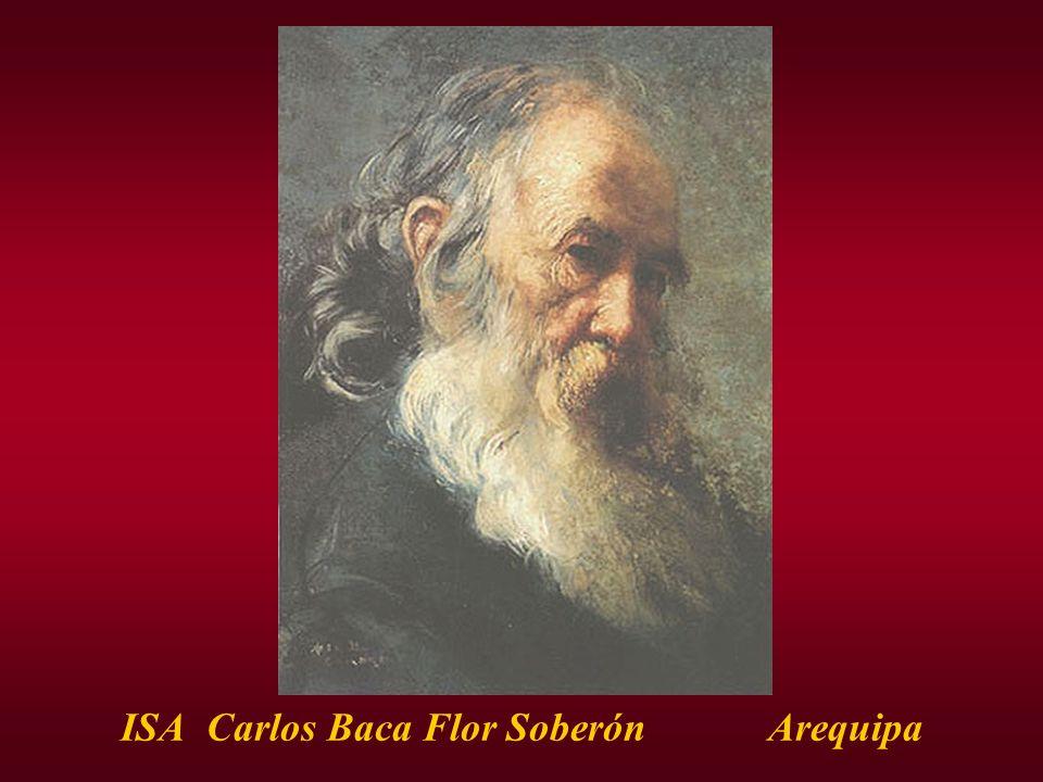 ISA Carlos Baca Flor Soberón Arequipa