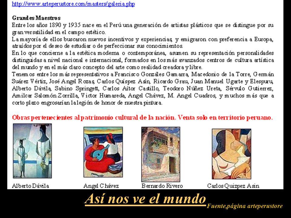 Fuente,página arteperustore