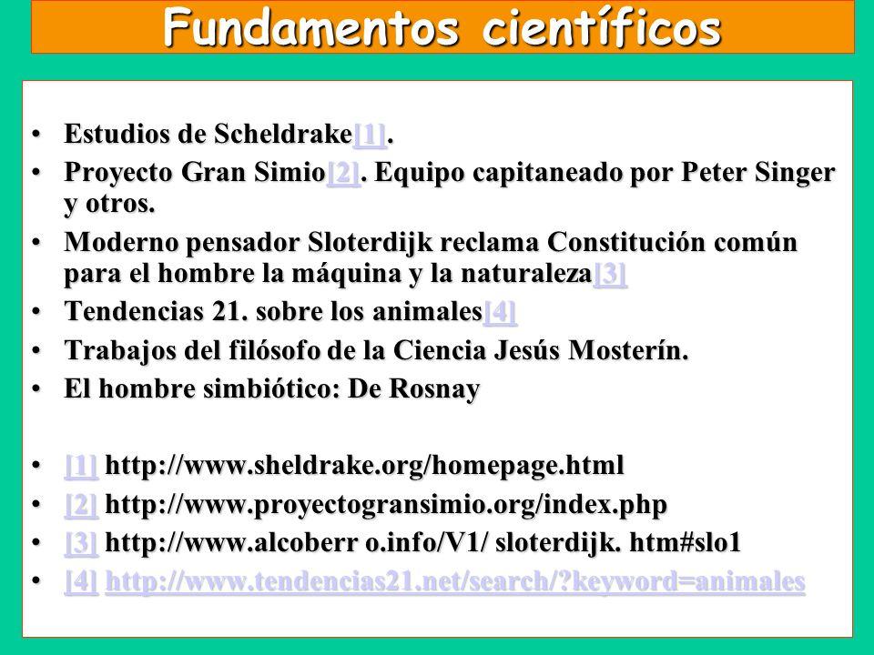 Fundamentos científicos