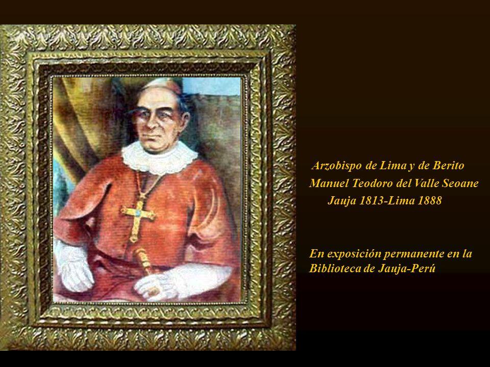Arzobispo de Lima y de Berito