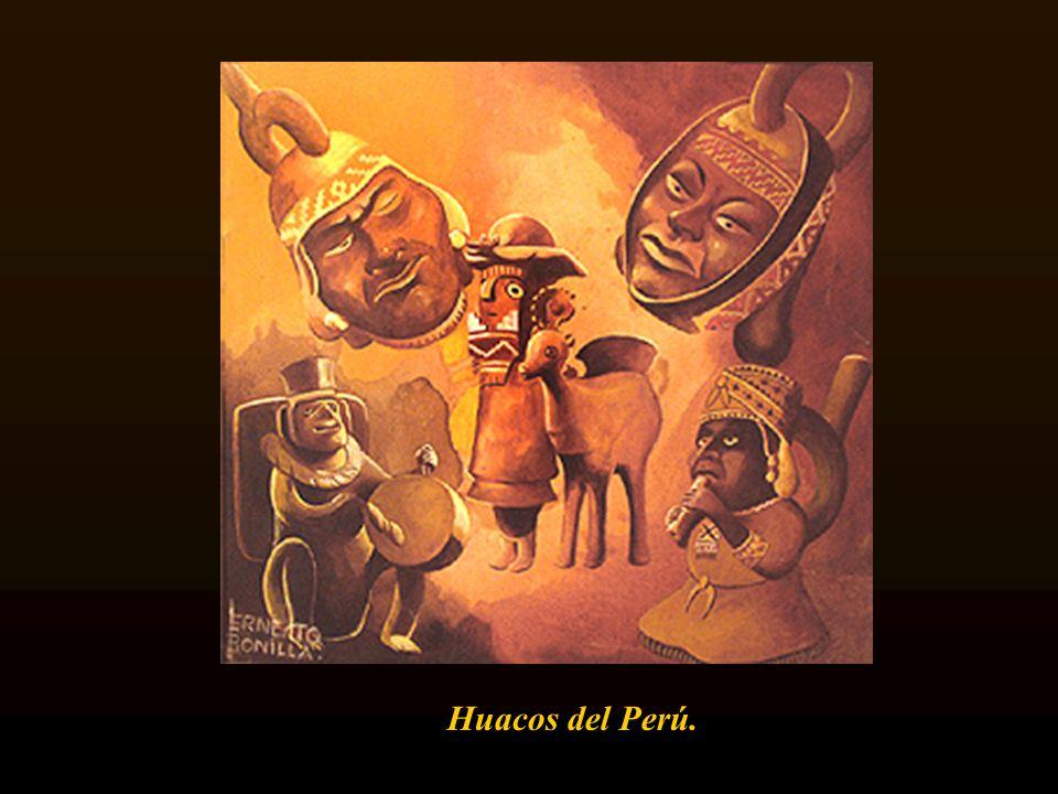 Huacos del Perú.