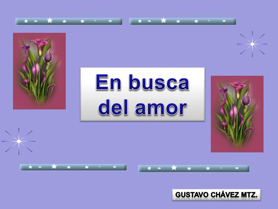 En busca del amor Gustavo Chávez mtz.
