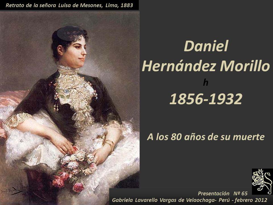Retrato de la señora Luisa de Mesones, Lima, 1883