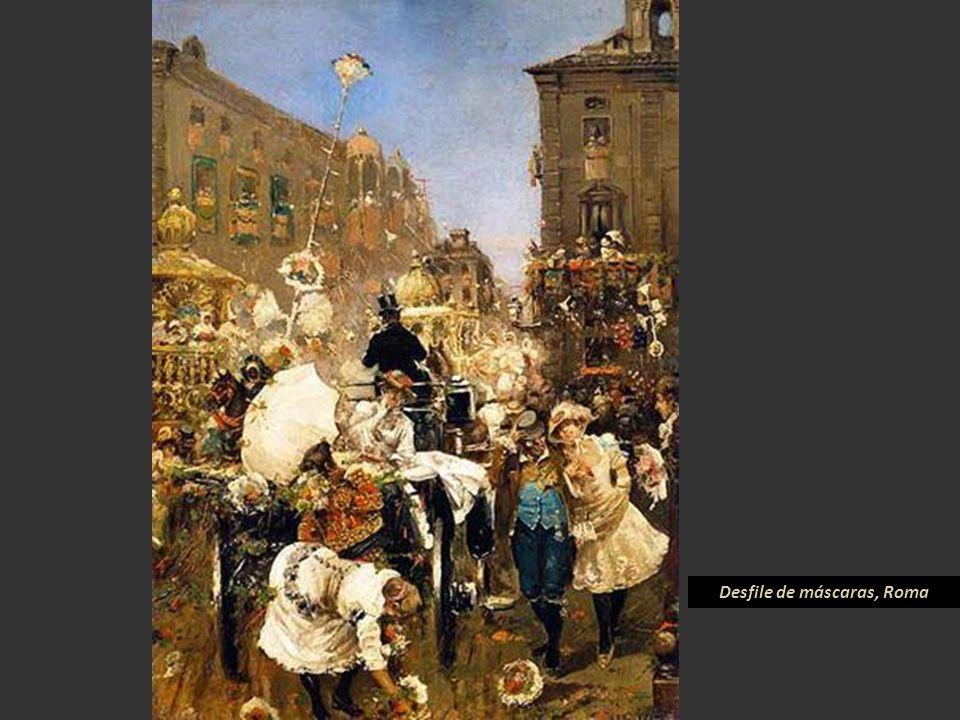 Desfile de máscaras, Roma