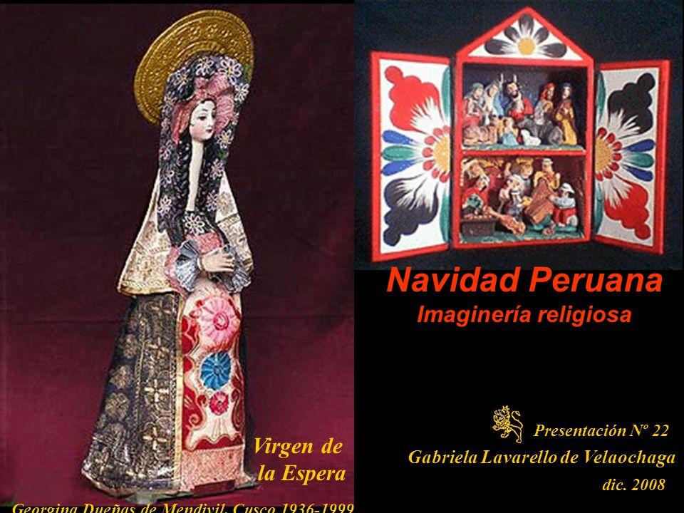 Navidad Peruana Imaginería religiosa