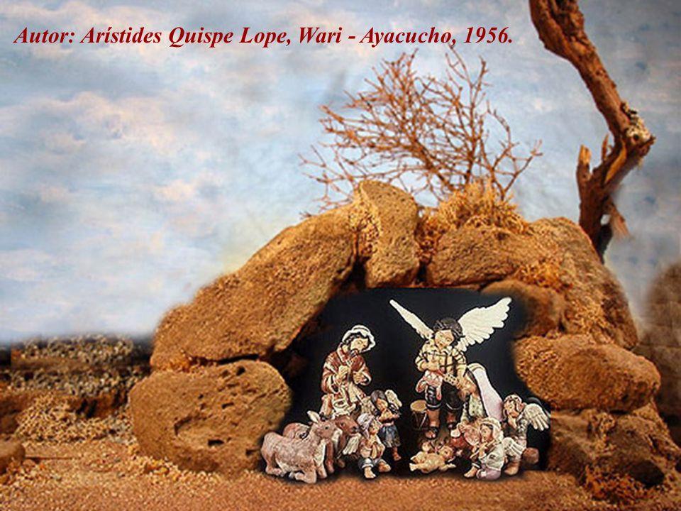 Autor: Arístides Quispe Lope, Wari - Ayacucho, 1956.