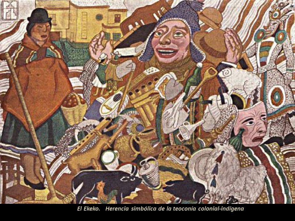 El Ekeko. Herencia simbólica de la teoconía colonial-indígena