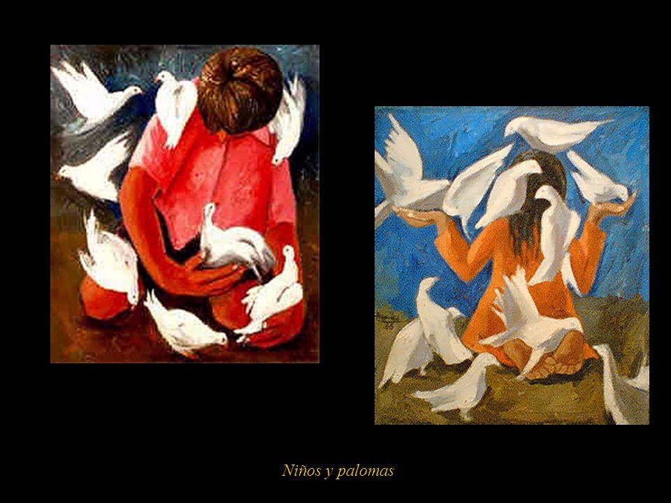 Niños y palomas 7
