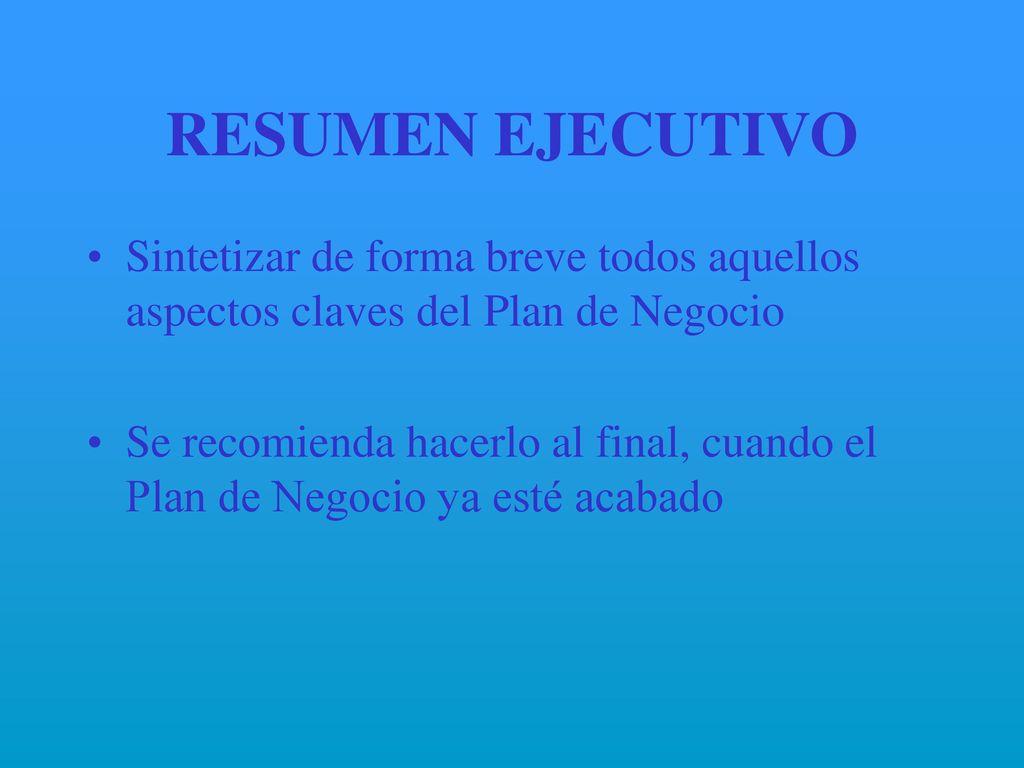 Famoso Resumen Ejecutivo De Negocios Ilustración - Ejemplo De ...