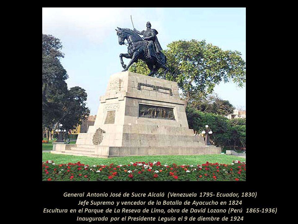 General Antonio José de Sucre Alcalá (Venezuela 1795- Ecuador, 1830)