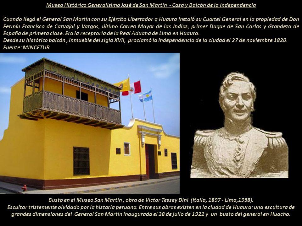 Museo Histórico Generalísimo José de San Martín - Casa y Balcón de la Independencia