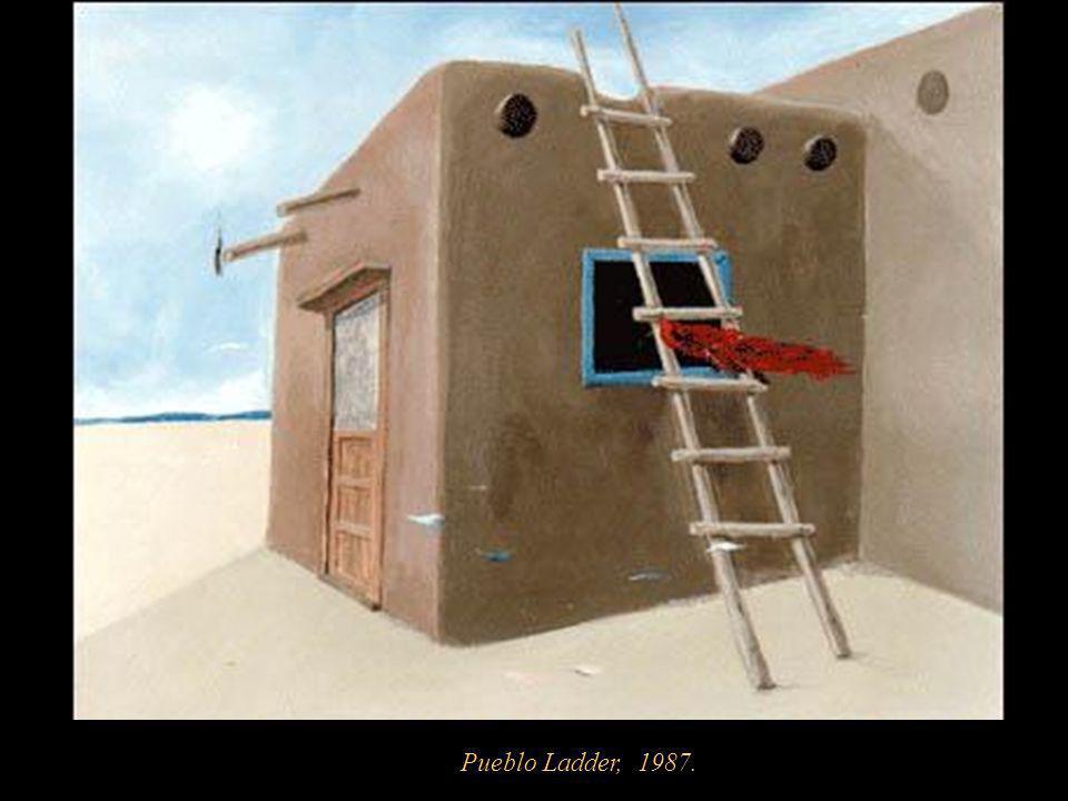 Pueblo Ladder, 1987.