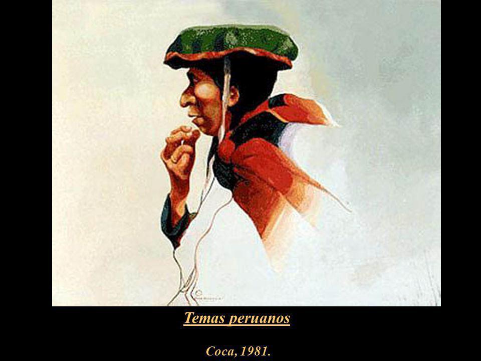 Temas peruanos Coca, 1981.
