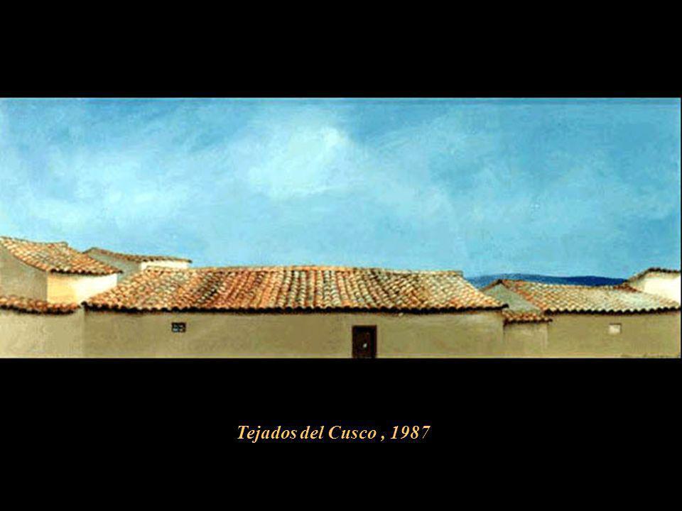 Tejados del Cusco , 1987