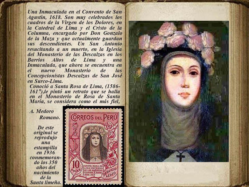 Una Inmaculada en el Convento de San Agustín, 1618