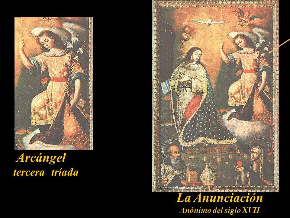 La Anunciación Anónimo del siglo XVII