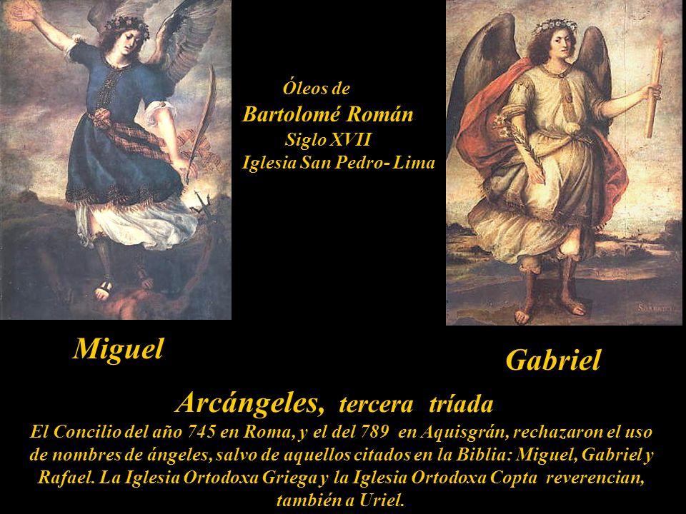 Arcángeles, tercera tríada