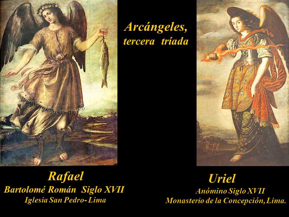Arcángeles, tercera tríada Rafael Uriel