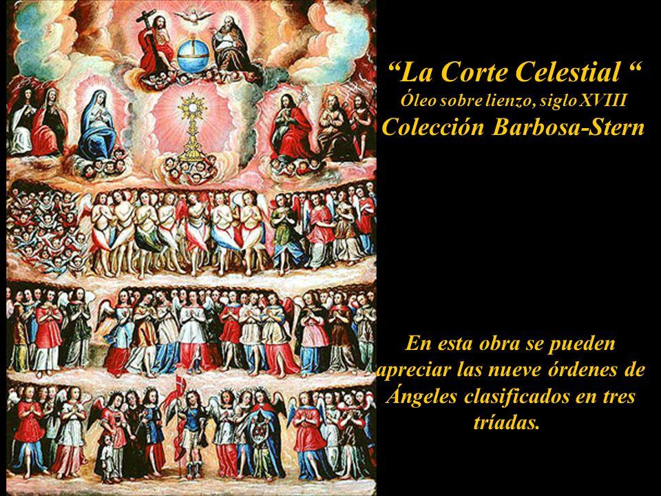 Óleo sobre lienzo, siglo XVIII Colección Barbosa-Stern