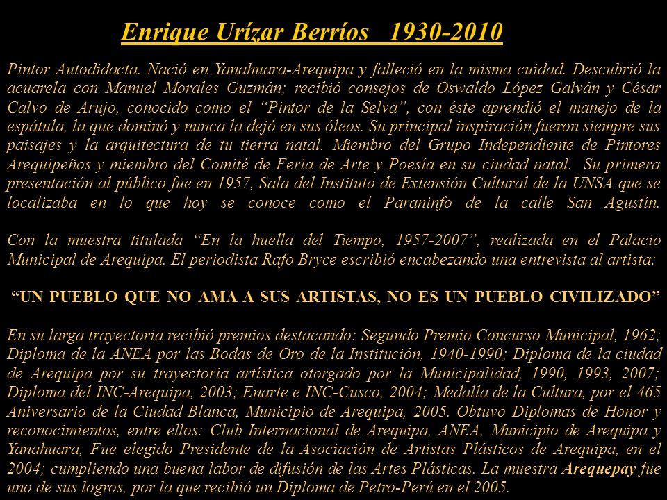 Enrique Urízar Berríos 1930-2010