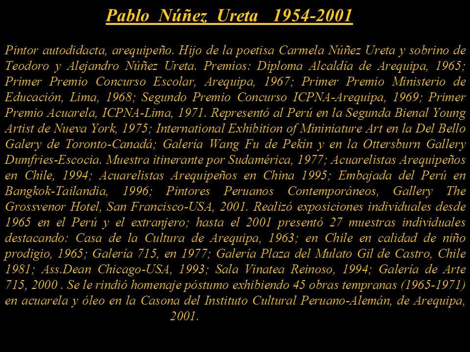 Pablo Núñez Ureta 1954-2001