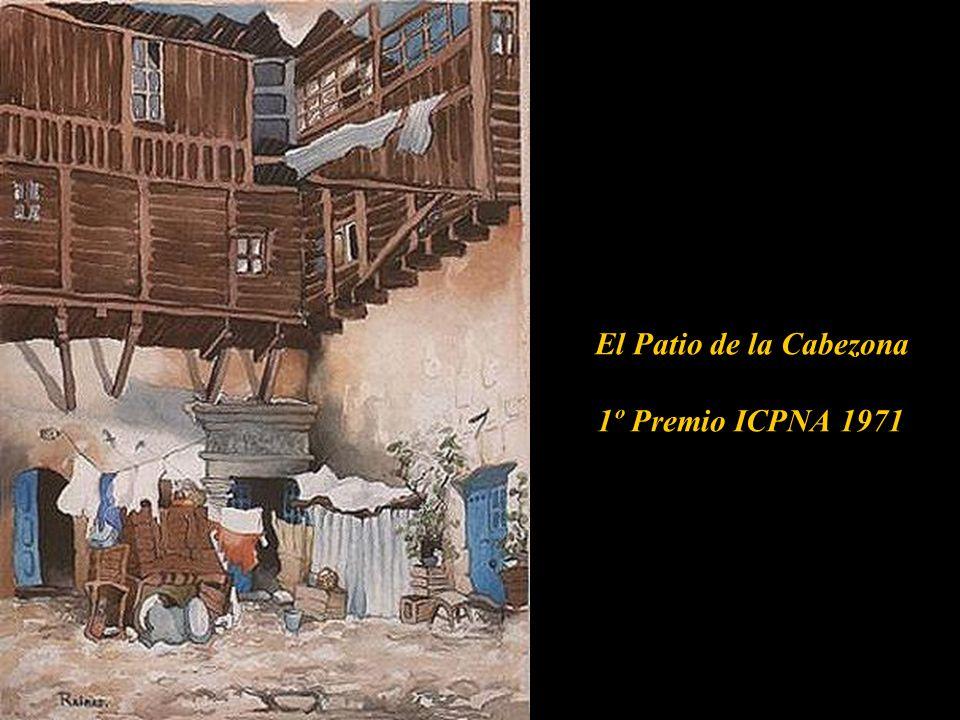 El Patio de la Cabezona 1º Premio ICPNA 1971 de la Cabezona,