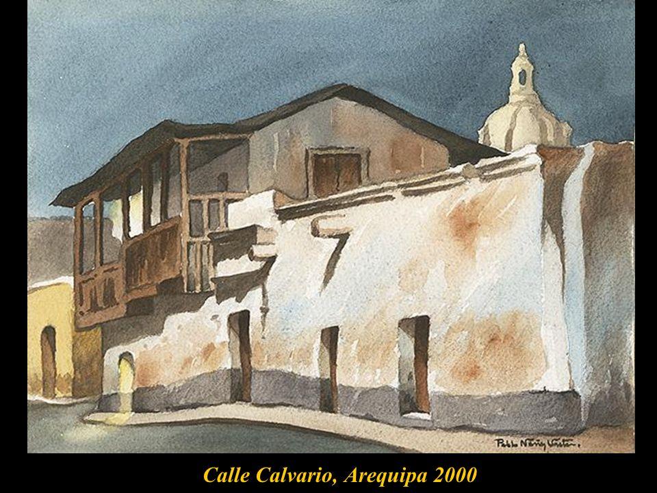 Calle Calvario, Arequipa 2000