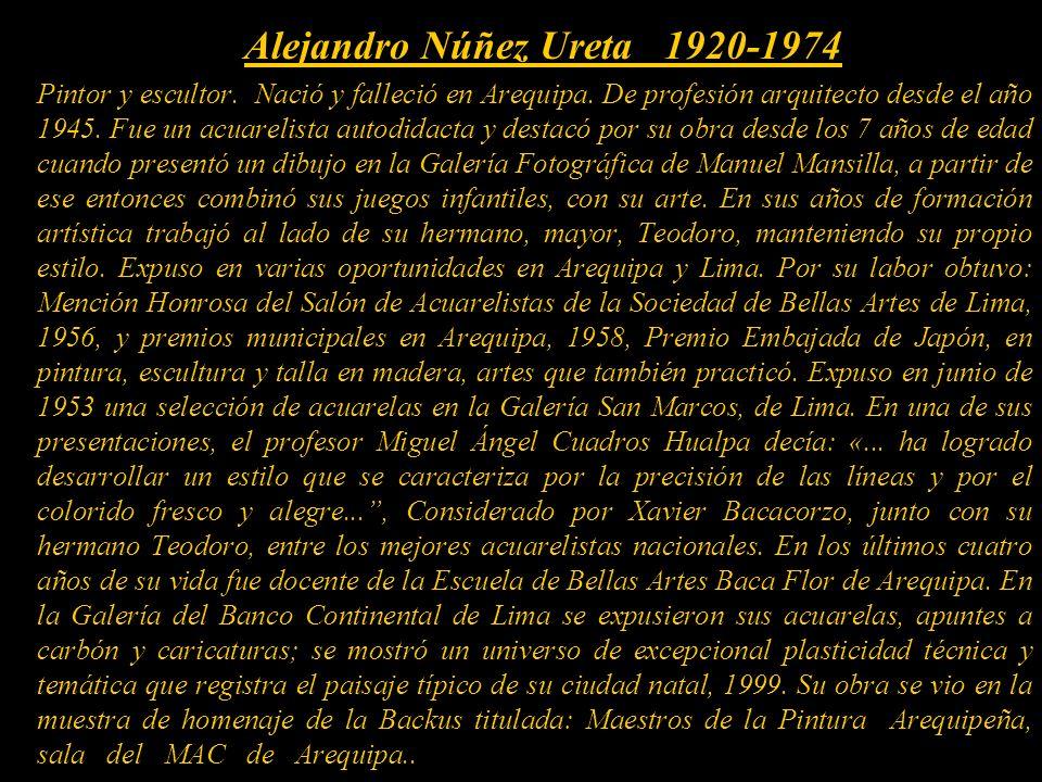 Alejandro Núñez Ureta 1920-1974