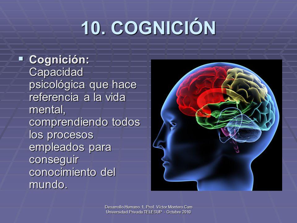 10. COGNICIÓN