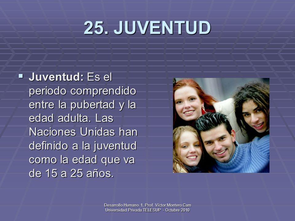 25. JUVENTUD