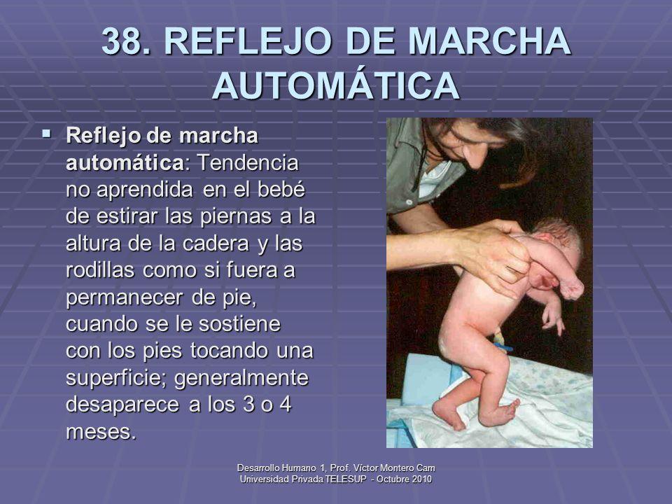 38. REFLEJO DE MARCHA AUTOMÁTICA