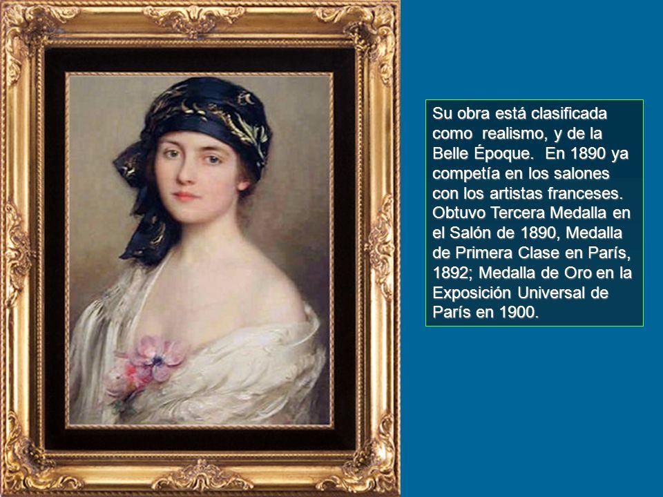 Su obra está clasificada como realismo, y de la Belle Époque
