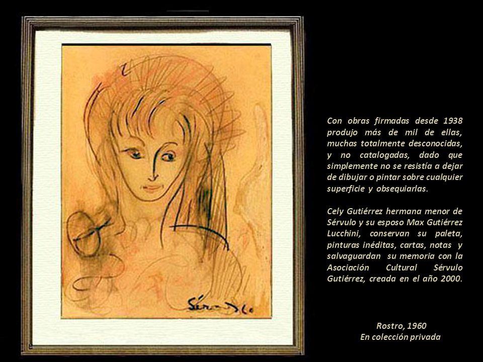 Rostro, 1960 En colección privada