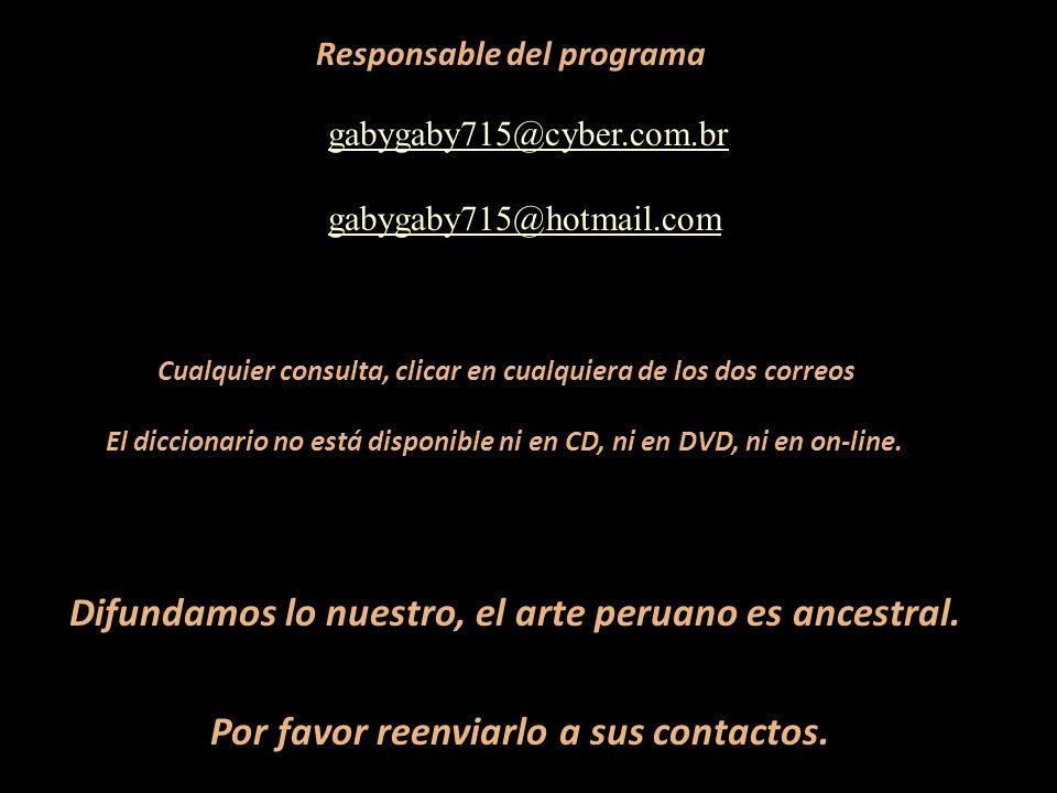 Difundamos lo nuestro, el arte peruano es ancestral.