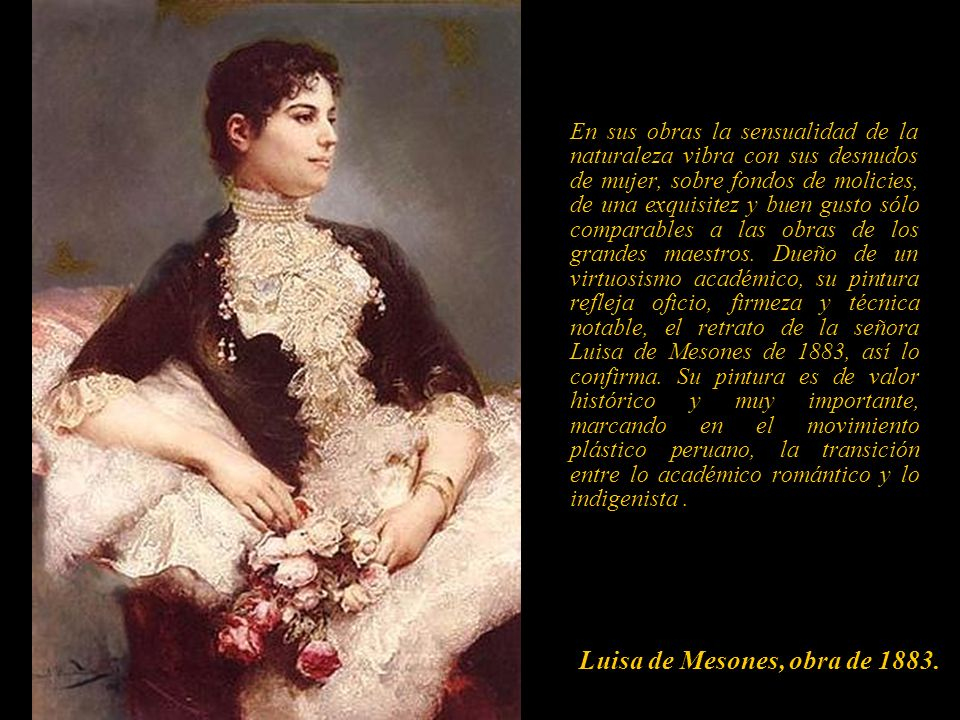 Luisa de Mesones, obra de 1883.