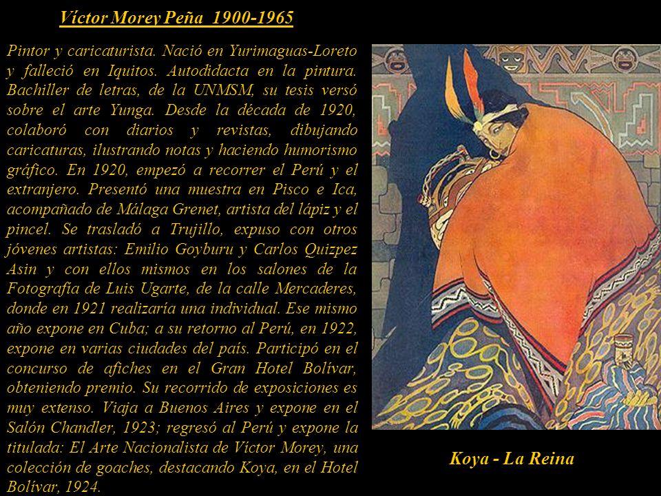Víctor Morey Peña 1900-1965 Koya - La Reina