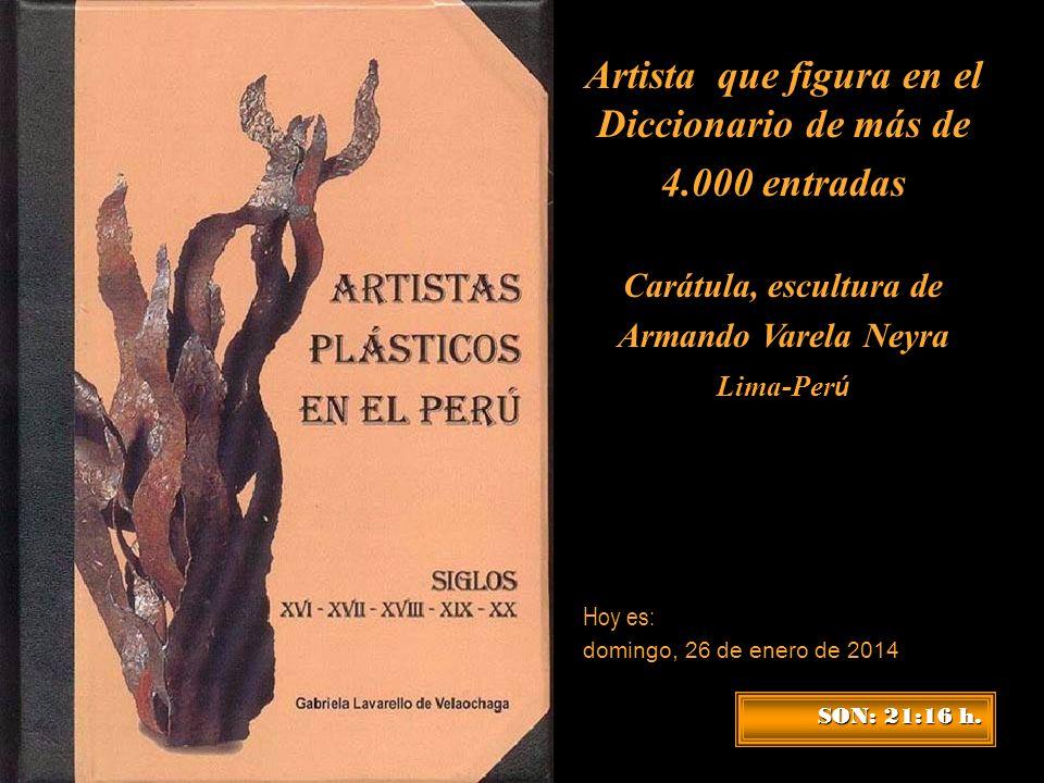 Artista que figura en el Diccionario de más de